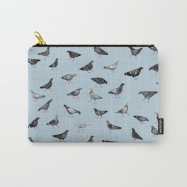 Pigeons Doing Pigeon Things Carry-All Pouch