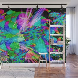 Worm Tumor Colony Wall Mural