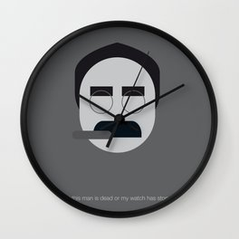 FC - Groucho Wall Clock
