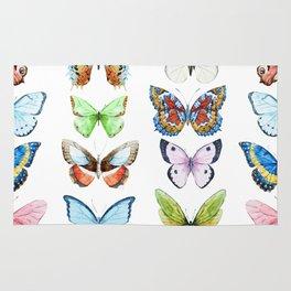 Butterfly Pattern 05 Rug