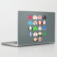 video games Laptop & iPad Skins featuring Females In Video Games by Leguna