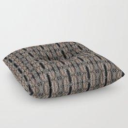 Pine Bark Pattern by Debra Cortese Design Floor Pillow