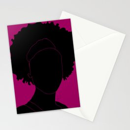 red-violet Stationery Cards