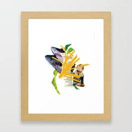 sharkbait Framed Art Print