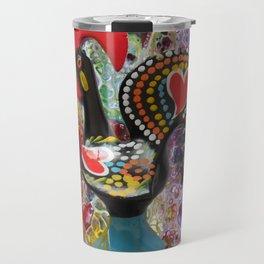 Galo de barcelos, Portugal Travel Mug