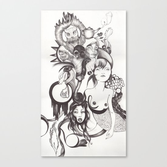 Imaginación Canvas Print