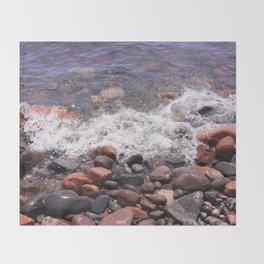 Lake Superior North Shore Throw Blanket