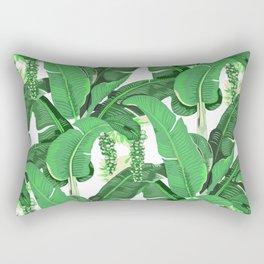 banana leaves brazilliance Rectangular Pillow