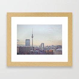 Winter in Berlin Framed Art Print