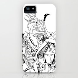 Visual Throwup iPhone Case