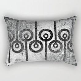 Order in Abstract II Rectangular Pillow