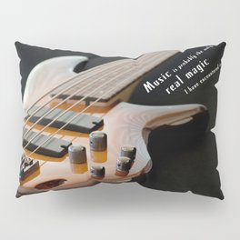 Music is Real Magic Pillow Sham