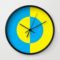 psychology Wall Clocks featuring Psychology of Color I by Jessica Lea Dunn