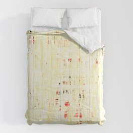 20190221 White Grid Coral No. 3 Comforters