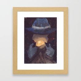 Questionable Framed Art Print