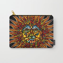 Psychedelic Sun Carry-All Pouch