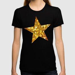 Glittering Golden Stars T-shirt