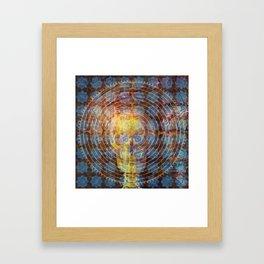 Labyrinth of Mind Framed Art Print