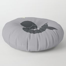 An Idea Floor Pillow