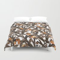 spice Duvet Covers featuring Spice by Marlene Pixley