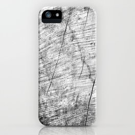 Cracks in timber Textures 3 iPhone Case