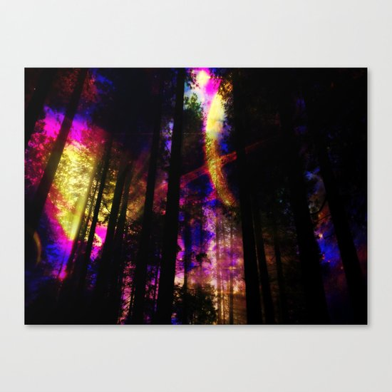 close your eyes and dream with me Canvas Print