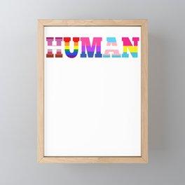 LGBT pride rainbow gay marriage pun gifts Framed Mini Art Print