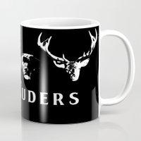marauders Mugs featuring The Marauders by pirateprincess
