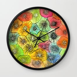 anémonea Wall Clock