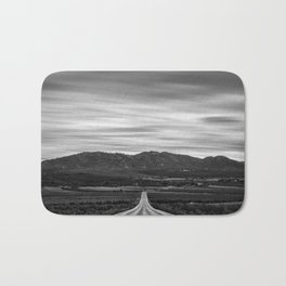 """""""At The End Of The Road"""" Bath Mat"""