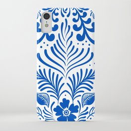 Mexican Folk Floral Ornaments iPhone Case