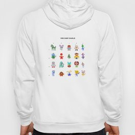 Fire Chief Charlie Pixel Characters Hoody