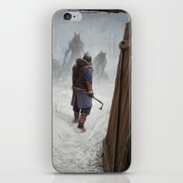 Knock, Knock. iPhone Skin