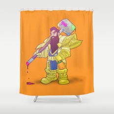 Deth Dwarf Shower Curtain