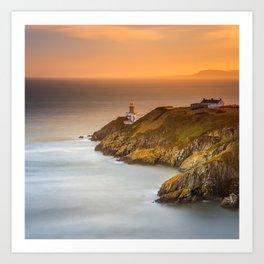 Baily Lighthouse Art Print