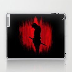 The way of the samurai warrior Laptop & iPad Skin