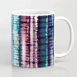 Bohemian Style Tie dye Stripes Design Coffee Mug