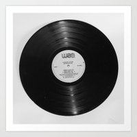 record Art Prints featuring Record by RMK Photography