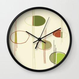 Pattern Print Wall Clock