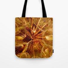 Dandelion Clock Tote Bag