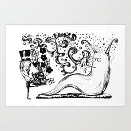 Rah! Art Print