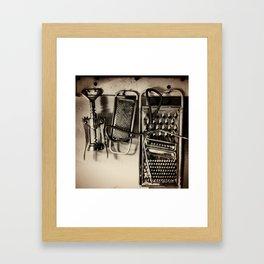 Utencils Framed Art Print