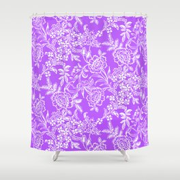Radiant Orchid Tea Shower Curtain