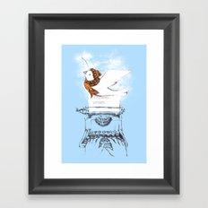 My Winter Article Framed Art Print