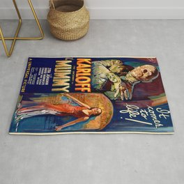 Vintage poster - The Mummy Rug