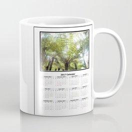 Fern tree, NZ Calendar 2017 Coffee Mug