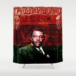 Marcus Garvey Black Nationalist Design Merchandise Shower Curtain