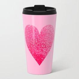 PINK PINK HEART Travel Mug