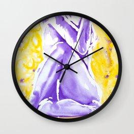 Yogi Twist Wall Clock