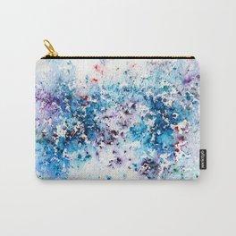 Blue Watercolour Rain Carry-All Pouch